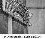 school cloakroom rhythm | Shutterstock . vector #1186115104