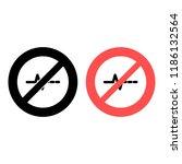 pulse ban  prohibition icon....