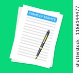 terms of service. document and... | Shutterstock .eps vector #1186144477