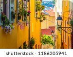 old town architecture of menton ... | Shutterstock . vector #1186205941