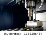 the  cnc milling machine... | Shutterstock . vector #1186206484