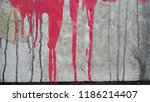 weathered torn peeled obsolete... | Shutterstock . vector #1186214407