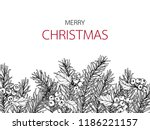 merry christmas'day backgroungs ... | Shutterstock .eps vector #1186221157