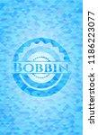 bobbin light blue mosaic emblem | Shutterstock .eps vector #1186223077