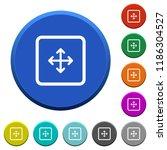 drag object round color beveled ...   Shutterstock .eps vector #1186304527