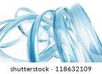 abstract transparent glass... | Shutterstock . vector #118632109