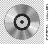 gramophone platinum vinyl lp... | Shutterstock .eps vector #1186321891