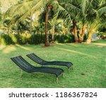tropical resort forest...   Shutterstock . vector #1186367824