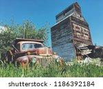 reed point. montana. usa   june ...   Shutterstock . vector #1186392184