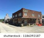 reed point. montana. usa   june ...   Shutterstock . vector #1186392187