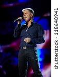 ������, ������: Singer Oleg Gazmanov performs