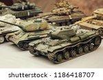 model toy miniature soviet... | Shutterstock . vector #1186418707