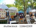 montmartre   october 31 ... | Shutterstock . vector #118642309