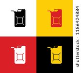 jerrycan oil sign. jerry can...   Shutterstock .eps vector #1186424884