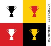 champions cup sign. vector.... | Shutterstock .eps vector #1186426204