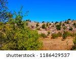 beautiful rural view   Shutterstock . vector #1186429537