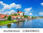 view of meissen castle  germany | Shutterstock . vector #1186438651