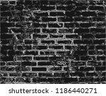 design element. ancient brick... | Shutterstock .eps vector #1186440271
