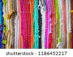 brazil textiles souvenir ... | Shutterstock . vector #1186452217