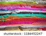 brazil textiles souvenir ... | Shutterstock . vector #1186452247