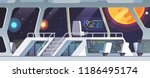 interstellar spaceship main... | Shutterstock .eps vector #1186495174