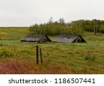 collapsed sheds in rural... | Shutterstock . vector #1186507441