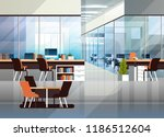 coworking office interior... | Shutterstock .eps vector #1186512604