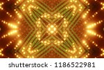 abstract kaleidescopic club... | Shutterstock . vector #1186522981