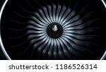 3d illustration of jet engine ... | Shutterstock . vector #1186526314