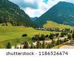 a view of steg a small village... | Shutterstock . vector #1186526674
