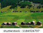 a view of steg a small village... | Shutterstock . vector #1186526707
