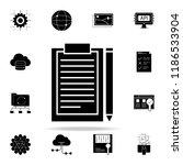 project documentation icon. web ...