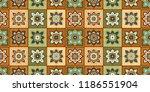 talavera pattern.  indian... | Shutterstock .eps vector #1186551904