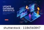 technology concept. update... | Shutterstock .eps vector #1186560847