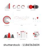 infographic elements  global... | Shutterstock .eps vector #1186563604