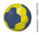 vector illustration of sport... | Shutterstock .eps vector #1186567951