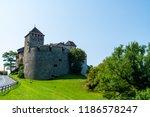 beautiful architecture at vaduz ... | Shutterstock . vector #1186578247