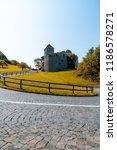 beautiful architecture at vaduz ... | Shutterstock . vector #1186578271