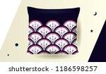 ethnic pattern design for... | Shutterstock .eps vector #1186598257
