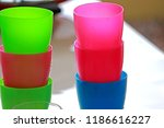 kitchenware on the table | Shutterstock . vector #1186616227