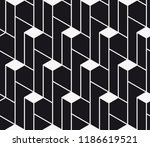 vector seamless pattern.... | Shutterstock .eps vector #1186619521
