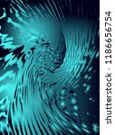 abstract vector cosmic... | Shutterstock .eps vector #1186656754