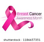 national breast cancer... | Shutterstock .eps vector #1186657351