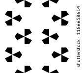 geometric vector. kites... | Shutterstock .eps vector #1186658614