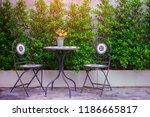 beautiful living and dining... | Shutterstock . vector #1186665817