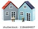 miniature people  couple of... | Shutterstock . vector #1186684837