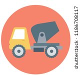 concrete buggy isolated vector ...   Shutterstock .eps vector #1186708117