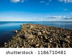 a view of the lake from the... | Shutterstock . vector #1186710481
