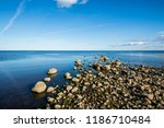 a view of the lake from the... | Shutterstock . vector #1186710484