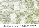 geometric rumpled triangular... | Shutterstock .eps vector #1186713787